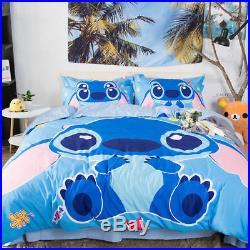 3D Disney Stitch Kids Bedding Set Duvet Cover Pillowcase Comforter/Quilt Cover