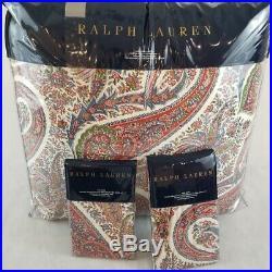 3pcs New Ralph Lauren King Comforter and Shams Set- NORWICH ROAD