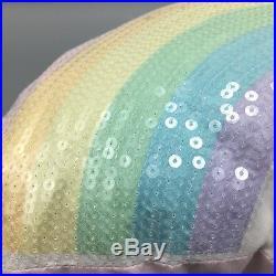 6pc Unicorn Rainbow FULL/QUEEN Set Comforter Quilt Coverlet Sham Pillows Envogue