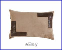 7pc Southwestern Cabin Lodge Wild Horses Microsuede Brown Comforter Set Cal King