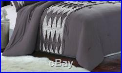 8 Piece Comforter Set Bedding Hotel Soft Luxury Over Sized Romeo QUEEN/KING size