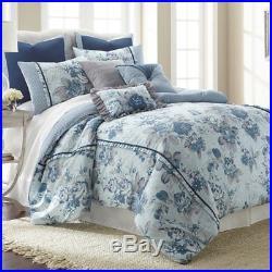8 Piece Comforter Set Bedding Reversible Elegant Floral FarmHouse Queen/King