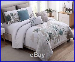 8 Piece Comforter Set Bedding Soft Elegant Luxury Shams Pillows Queen/King Size