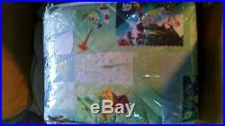 Alice in Wonderland Full / Queen Comforter Bedspread / Full Sheet Set Disney NIP
