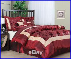 Angela 7Pc Ebroidered Bed in a bag Comforter Set NEW