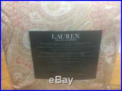 Brand New Ralph Lauren Glenmore Paisley Queen 4 Pc Comforter Set