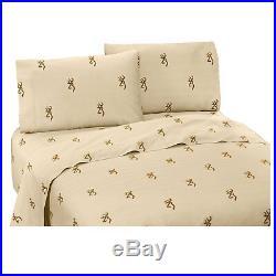 Browning Buckmark Oak Tree Comforter Set with Sheet Option FREE SHIPPING