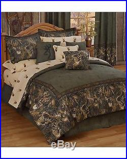 Browning Whitetails Queen Comforter Set Multi One Size