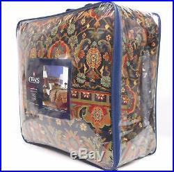 Chaps Brompton Hall Queen Comforter 5pc Set Pillow Red