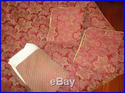 Croscill Bellissima Red Gold Paisley Medallion (4pc) Queen Comforter Set