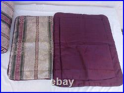 CROSCILL Dover Manor Full/Queen Comforter set withtwo shams & 1 Pillow Made in USA