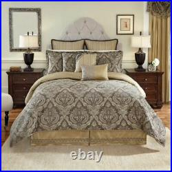CROSCILL Estate ASHFIELD Comforter SET QUEEN SIZE New 4 Piece NWT