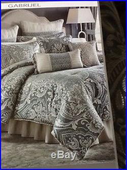 CROSCILL GABRIJEL Queen Size Comforter Bed Set NEW