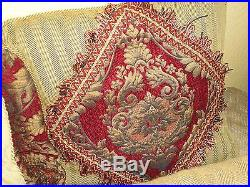 Croscill Imperial Gold Red Medallion (4pc) Queen Comforter Shams Pillow Set