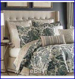 CROSCILL Marietta QUEEN Floral REVERSIBLE Comforter Set