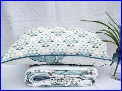 Cactus 100% Cotton Coverlet Bedspread Comforter Bedcover Set 3pcs Queen