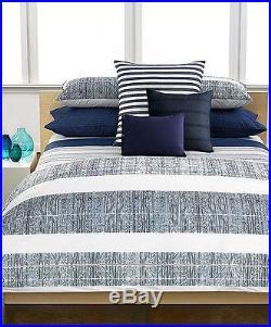 Calvin Klein 3PC Montauk Queen Comforter Set New