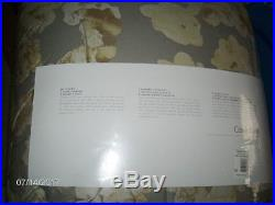 Calvin Klein Vaucluse Bone 3 Pc QUEEN Comforter Set 2 Shams $315 NIP