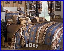 Carstens Rustic Western Seirra 5 Piece Comforter Bedding Set READ PLEASE