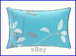 Chic Home 8 Piece Bliss Garden Comforter Set Queen Turquoise