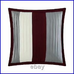 Chic Home Moriarty 10 Piece Comforter Set Color Block Ruffled Bed in a Bag