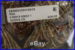 Croscill Bedding Bradney Damask Jacquard 4-PC QUEEN Comforter Set $335 I070
