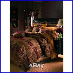 Croscill Galleria Comforter Set, Queen, Red New