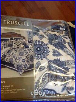 Croscill Leland Queen Comforter Set, 4 Piece, NIP