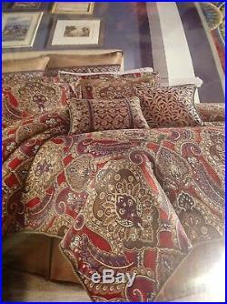 Croscill Margaux Queen Comforter Set, 4 Pieces, NEW