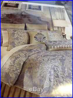 Croscill NADIA queen Comforter Set, 4 Piece, NIP