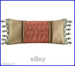 Croscill NORMANDY Queen COMFORTER Shams Bedskirt Boudoir Fashion PILLOW 6PC Set