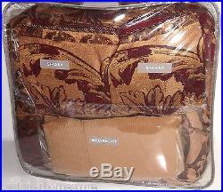 Croscill RYLAND 9PC Queen Comforter Shams Bedskirt Euros Pillows Set New
