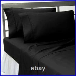 DC Batman Emblem 7 Piece Queen Size Comforter Set With Solid Black Bed Sheet Set