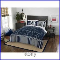 Dallas Cowboys Comforter Set NFL 5pc Bed Bag Sheets Queen Team Licensed Bedding