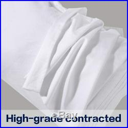 Egyptian Comfort 1800 Count 4 Piece Queen Bed Sheet Set with 2Cooling Pillows