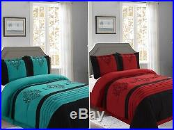 Empire Home Heba Damask 4-Piece Comforter Set Bed In A Bag New Arrival Sale