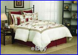 Fashion Street Eve 8-Piece Comforter Set, Queen