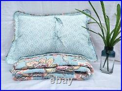 Gloria 100% Cotton Coverlet Bedspread Comforter Bedcover Set 3pcs Queen