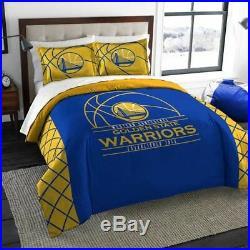 Golden State Warriors Full/queen Printed Comforter And Sham Set Reverse Slam 3pc