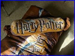 Harry Potter QUEEN bedding set Comforter, 3 pillows, fitted sheet, bed skirt