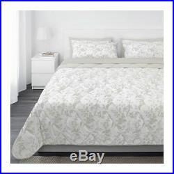IKEA KIRSKAL 7-Piece Comforter Bed In A Bag Set White Beige