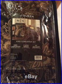 J. Queen King Size Comforter Set/Valdosta