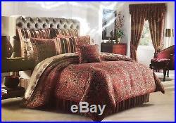J. Queen Kingston Queen Comforter Set Brand New Comforter 2 Shams Bedskirt