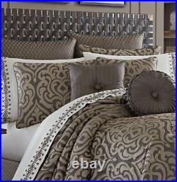 J Queen New York 4-pc King Comforter Set Astoria Mink