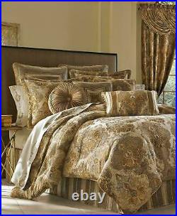 J. Queen New York Bradshaw 4-Piece King Comforter Set with Bedskirt & Shams $585