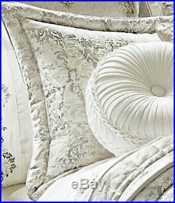 J. Queen New York Dream King 4-Piece Comforter Set in Natural