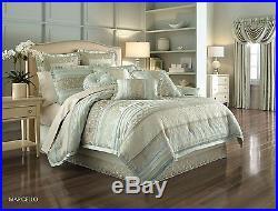 J. Queen New York Marcello Ivory King 4 Pc Comforter Set