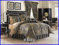 J. Queen New York Venezia Teal California King 4 Pc Comforter Set
