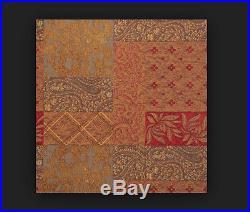 Jennifer Taylor CARAVAN Collection 9-Piece Oversize QUEEN Comforter Bedding Set