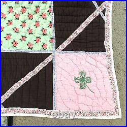 Land of Nod Bedding Equestrian Horse Quilt Comforter Pillow Sham Set Full Double